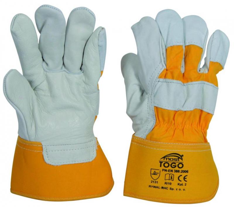 5963597482aa8 Kožené rukavice MOST TOGO veľkosť 10