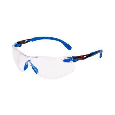 3b22cec37 Ochranné okuliare 3M Solus 1101 Scotchgard modro-čierny rám číre